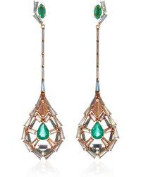 Nak Armstrong - Pendulum Earrings - Lyst