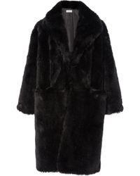 Apiece Apart - Cove Faux Fur Parka - Lyst