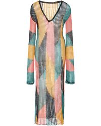 A Peace Treaty - Serreno Color Block Caftan - Lyst