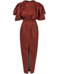 Maticevski Mineras Day Dress
