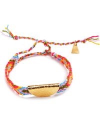 Lucy Folk | Gold Taco Friendship Band | Lyst