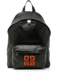 Givenchy - 4g Logo Leather Backpack - Lyst