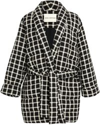 Mara Hoffman - Willa Quilted Check Wrap Jacket - Lyst