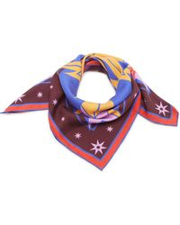 Givenchy - Iconic Flash Printed Silk Scarf - Lyst