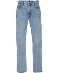 Khaite - Kyle Relax Low-rise Cotton Jeans - Lyst