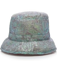 Anna Sui - Mother Of Pearl Jacquard Hat - Lyst