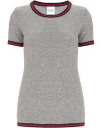 Madeleine Thompson - Hoth Striped Crewneck T-shirt - Lyst