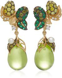 Anabela Chan - Appleberry 18k Gold Vermeil Multi-stone Earrings - Lyst