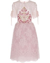 Georges Hobeika - Lace Dress - Lyst