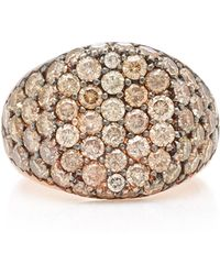Sylva & Cie - 14k Rose Gold Diamond Ring - Lyst