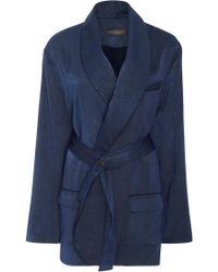 Hensely - Washed Satin Jacket - Lyst