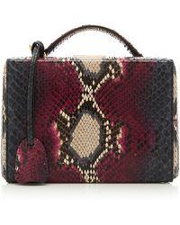 Mark Cross - Small Grace Python Box Bag - Lyst