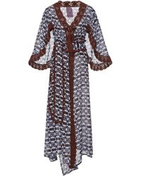 Yvonne S - Linen Butterfly Wing Wrap Dress - Lyst