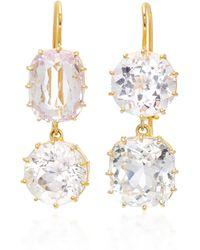 Renee Lewis - 18k Gold Kuzite Earrings - Lyst