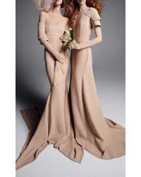 Vera Wang - Yulia Mermaid Gown - Lyst
