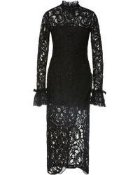Alexis - Fala Lace Midi Dress - Lyst