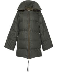Agnona - Reversible Long Puffer Jacket - Lyst
