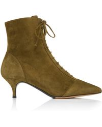 Tabitha Simmons - Emmet Suede Ankle Boots - Lyst