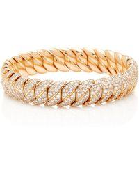 Sidney Garber - Wave Diamond Bracelet - Lyst