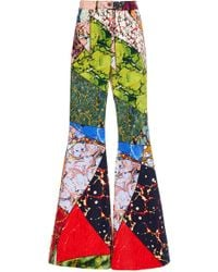 Rosie Assoulin - Marble Exaggerated Flared Pant - Lyst
