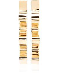 Bia Daidone - Sofia 24k Gold-plated Earrings - Lyst