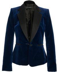 Elie Saab - Tailored Velvet Jacket - Lyst