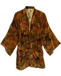 Mes Demoiselles - Shana Printed Kimono - Lyst