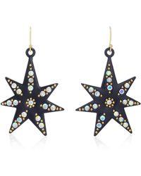 Lulu Frost | Orana Gold-plated Crystal Star Earrings | Lyst