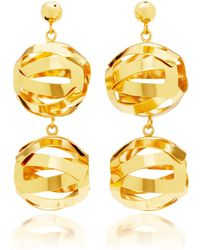 Paula Mendoza - Unilla Double Earrings - Lyst