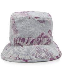 Anna Sui - Peonies Jacquard Hat - Lyst