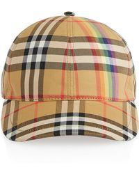 Burberry - Rainbow Baseball Cap - Lyst