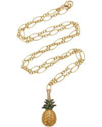 Khai Khai - 18k Gold, Sapphire, Tsavorite, And Diamond Charm - Lyst