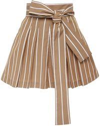 Alexis - Noya Cotton Mini Shorts - Lyst