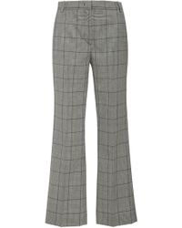 RED Valentino - Cropped Flare Pants - Lyst