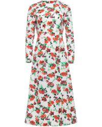 Dalood - Long Sleeve Flare Dress - Lyst