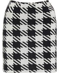 Solid & Striped - Delilah Gingham Swim Skirt - Lyst