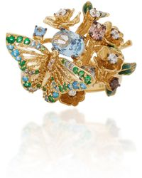 Anabela Chan - M'o Exclusive Aqua Orchard Ring - Lyst