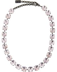 N°21 - Strass Necklace - Lyst