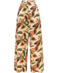 Lena Hoschek - Rio High Waisted Trousers - Lyst