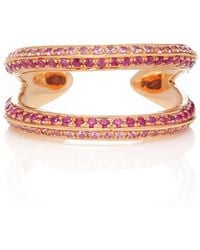 Ralph Masri - Double Sapphire Ring - Lyst