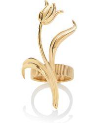 Rodarte - Gold Expandable Tulip Bracelet - Lyst