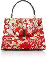 Valextra - Iside Kimono Leather Bag - Lyst