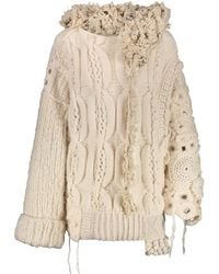 Tuinch - Oversized Cable Knit Jumper - Lyst
