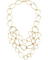 Kimberly Mcdonald - Geode Outline Bib Necklace - Lyst