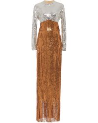 Rachel Comey - Converge Sequined Fringed Maxi Dress - Lyst