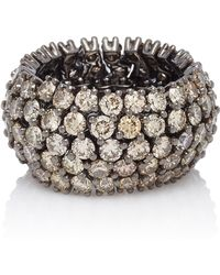Sidney Garber - Flexible Cognac Diamond Ring - Lyst