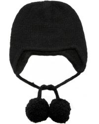 The Elder Statesman - Exclusive Handspun Ear Flap Cap - Lyst