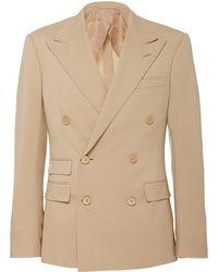 Ralph Lauren - Kent Double Breasted Suit - Lyst