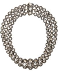 Sanjay Kasliwal - One-of-a-kind Layered Rose-cut Diamond Necklace - Lyst