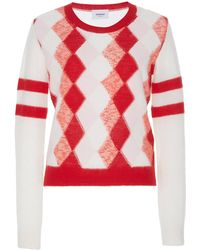 Dondup - Diamond Printed Sweater - Lyst